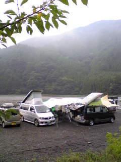 気田川キャンプ